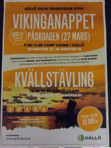 Vikinganappet 2016 och kvällstävlingen